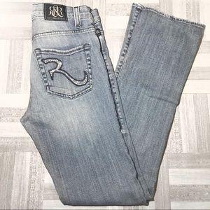 Rock & Republic Kasandra Light Wash Jeans Size 6